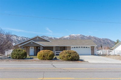 Tehachapi Single Family Home For Sale: 21511 Westwood Boulevard