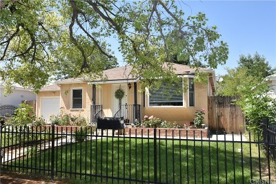 Van Nuys Single Family Home For Sale: 15513 Cohasset Street