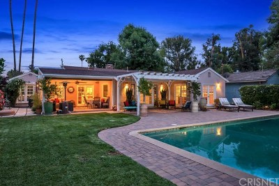 Sherman Oaks Single Family Home For Sale: 5323 Cedros Avenue