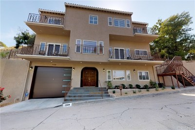 Sherman Oaks Single Family Home For Sale: 15330 Del Gado Drive