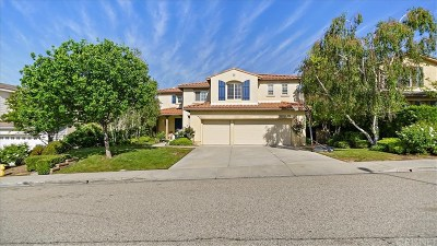 Valencia Single Family Home Active Under Contract: 29269 Las Terreno Lane