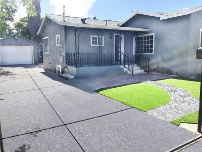 San Fernando Single Family Home For Sale: 1012 Kewen Street