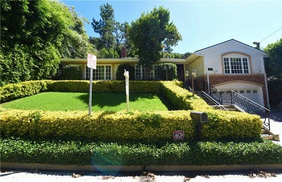 Los Angeles County Rental For Rent: 2260 Bowmont Drive