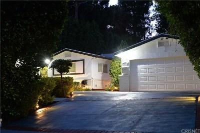 Studio City Single Family Home For Sale: 12535 Kling Street