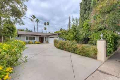 Sherman Oaks Single Family Home For Sale: 5147 Nagle Avenue