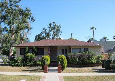 Van Nuys Single Family Home For Sale: 17100 Vose Street