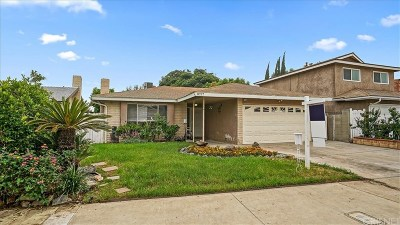 Sun Valley Single Family Home For Sale: 8737 Omelveny Avenue
