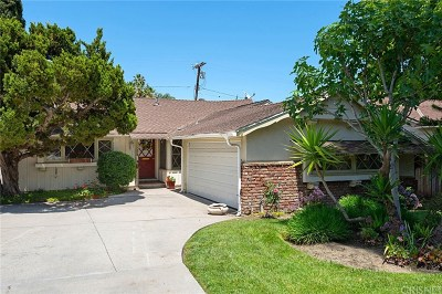 Woodland Hills Single Family Home Active Under Contract: 22233 Avenue San Luis