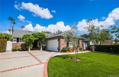 Sherman Oaks Single Family Home For Sale: 5056 Mammoth Avenue