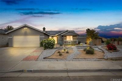 Rosamond Single Family Home For Sale: 1132 Oakwood Lane