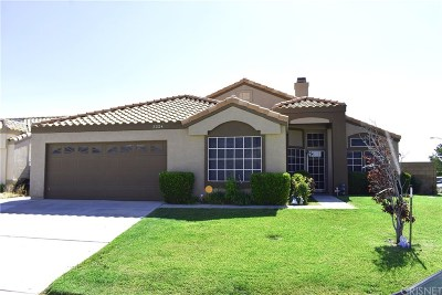 Rosamond Single Family Home For Sale: 3224 Mesa Court