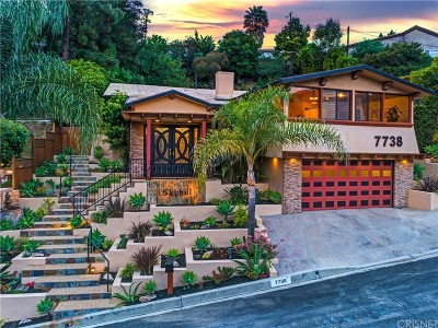 Los Angeles County Single Family Home For Sale: 7738 Skyhill Drive