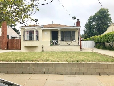 Pasadena Single Family Home For Auction: 571 Toolen Place