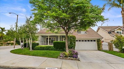 Valencia Single Family Home For Sale: 27368 Parklane Way