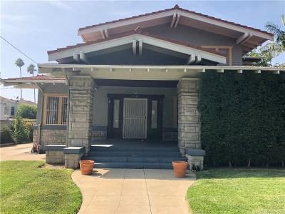 Los Angeles Single Family Home For Sale: 1735 Taft Avenue