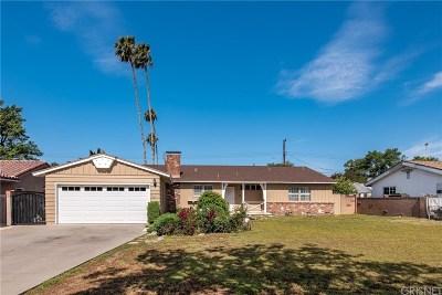 Northridge Single Family Home For Sale: 10151 Amestoy Avenue
