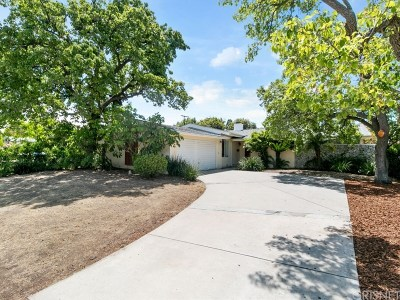 Granada Hills Single Family Home Active Under Contract: 16432 Kingsbury Street
