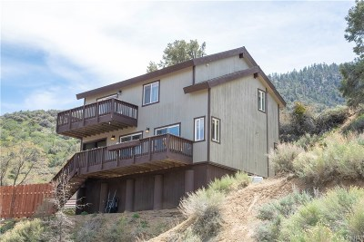 Frazier Park Single Family Home For Sale: 3827 Kiwanis