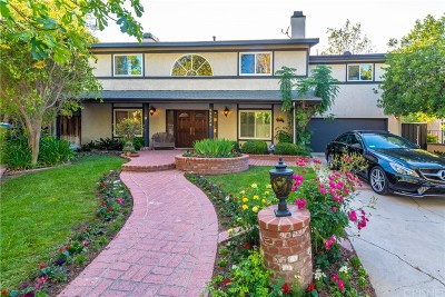 Woodland Hills Single Family Home For Sale: 23333 Weller Place