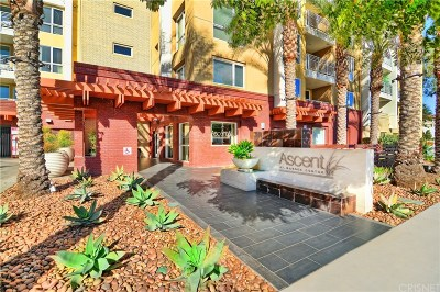 Woodland Hills Condo/Townhouse For Sale: 21301 Erwin Street #222
