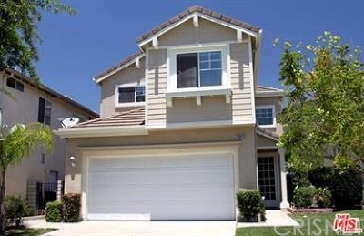 Stevenson Ranch Single Family Home Active Under Contract: 25619 Wordsworth Lane