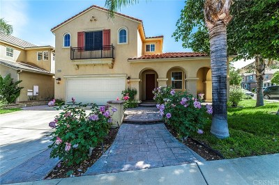 Santa Clarita, Canyon Country, Newhall, Saugus, Valencia, Castaic, Stevenson Ranch, Val Verde Single Family Home For Sale: 22103 Altair Lane