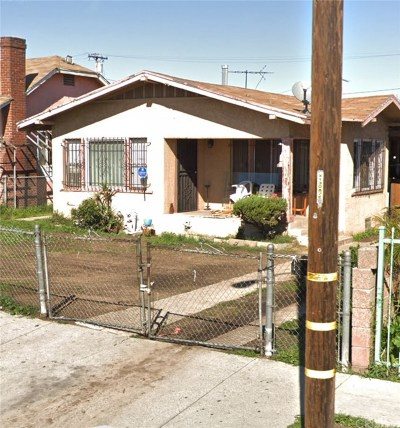 Los Angeles Single Family Home For Sale: 1325 West 95th Street