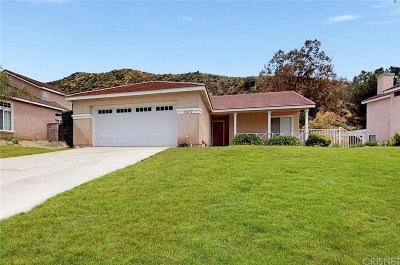 Santa Clarita, Canyon Country, Newhall, Saugus, Valencia, Castaic, Stevenson Ranch, Val Verde Single Family Home For Sale: 30452 Sunrose Place