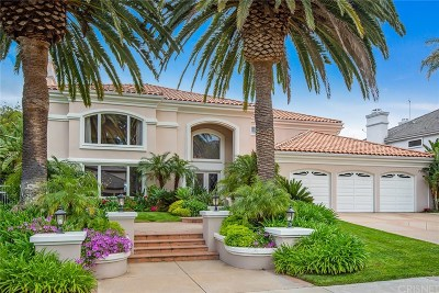 Calabasas Single Family Home Active Under Contract: 25850 Chalmers Place