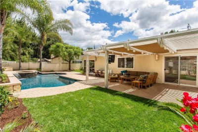 West Hills Single Family Home Active Under Contract: 8422 Samra Drive