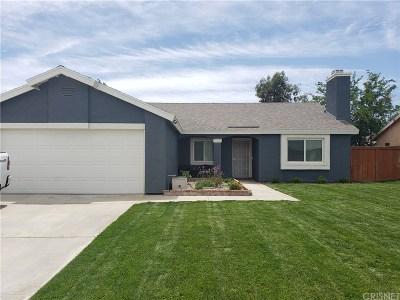 Rosamond Single Family Home For Sale: 3036 Richland Avenue