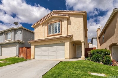 Los Angeles County Single Family Home Active Under Contract: 31349 Castaic Oaks Lane
