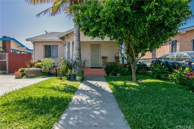 Los Angeles Single Family Home For Sale: 5155 South Van Ness Avenue