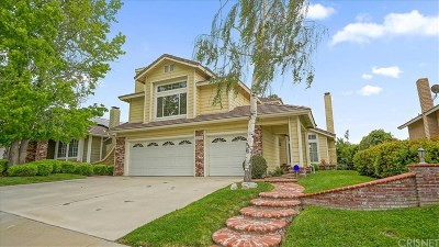 Saugus Single Family Home For Sale: 28344 Maxine Lane
