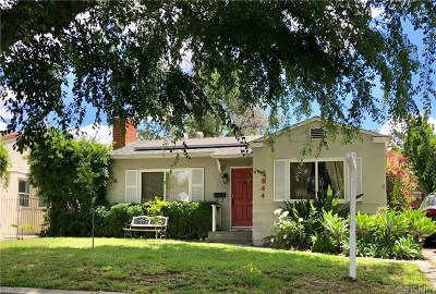 North Hollywood Single Family Home For Sale: 5844 Riverton Avenue