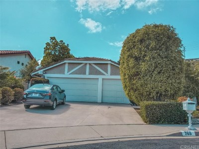 Thousand Oaks Single Family Home For Sale: 765 Rushing Creek Place