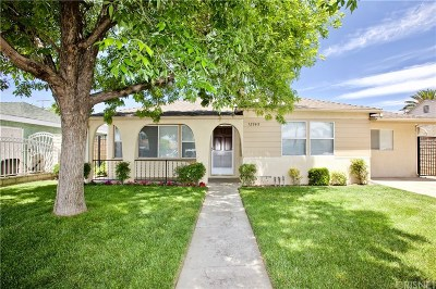 Pacoima Single Family Home For Sale: 12949 Wingo Street