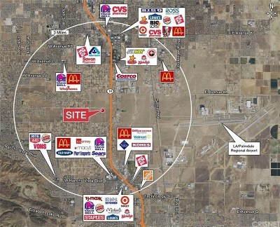 Palmdale Residential Lots & Land For Sale: 41355 15th Stw
