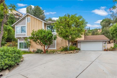 Woodland Hills Single Family Home For Sale: 22130 Martinez Street