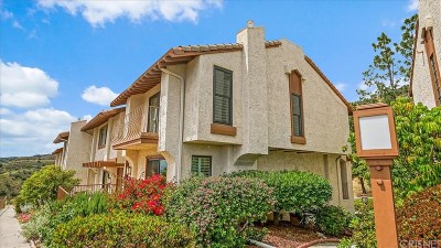 Burbank Condo/Townhouse For Sale: 1707 Camino De Villas