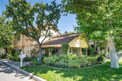 Encino Single Family Home Active Under Contract: 4924 Gaviota Avenue