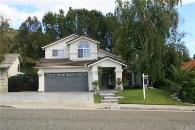 Saugus Single Family Home For Sale: 29004 Seco Canyon Road