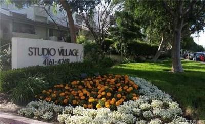 Studio City Condo/Townhouse Sold: 4231 Colfax Avenue #D