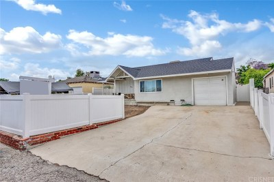 Burbank Single Family Home For Sale: 9913 Lull Street