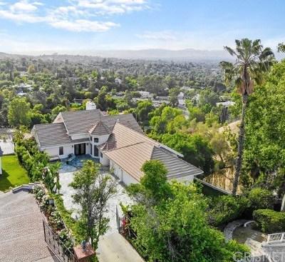 Tarzana Single Family Home For Sale: 4955 Casa Drive
