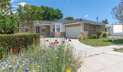 Single Family Home For Sale: 6630 Jamieson Avenue