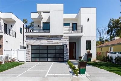 Sherman Oaks Single Family Home For Sale: 5128 Noble Avenue
