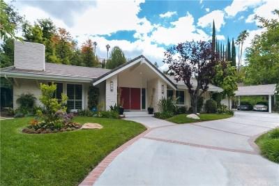 Tarzana Single Family Home For Sale: 4608 La Barca Drive