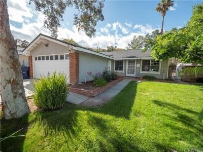 Canyon Country Single Family Home Active Under Contract: 14621 Geranium Glen Lane