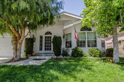 Santa Clarita, Canyon Country, Newhall, Saugus, Valencia, Castaic, Stevenson Ranch, Val Verde Single Family Home For Sale: 19763 Northcliff Drive